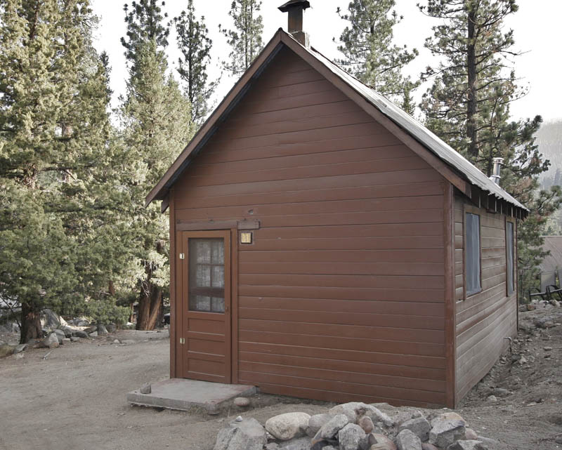 Wood Frame Cabin