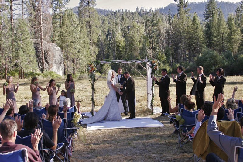 Wedding in the Meadow
