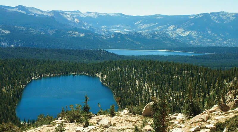 Devil's Bathtub Edison High Sierra Lakes