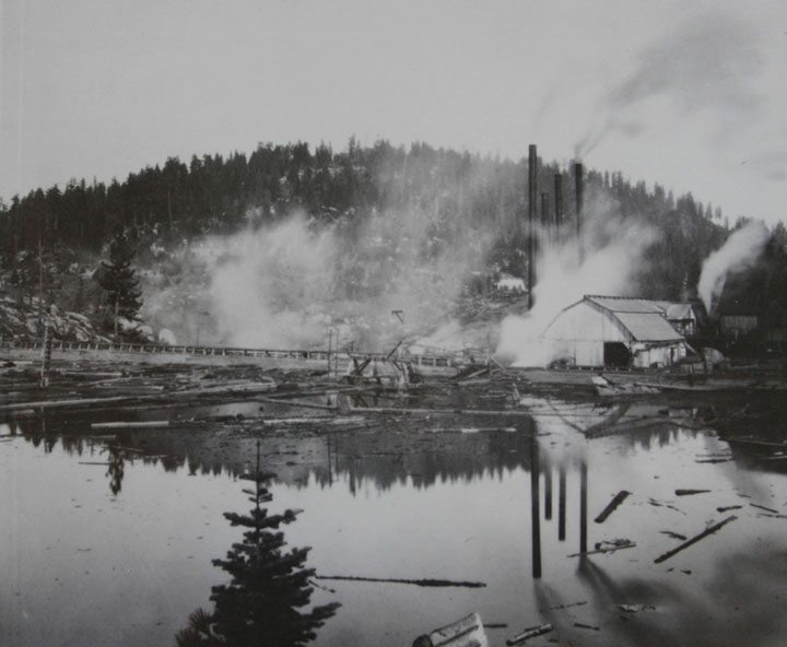 Old Shaver Lake Sawmill