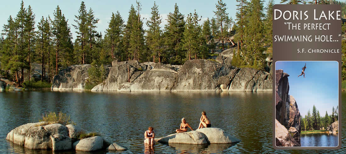 Doris Lake 'The Perfect Swimming Hole'