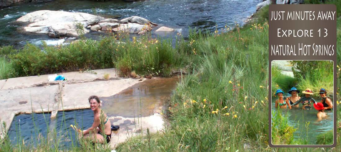 Explore 13 Natural Hot Springs