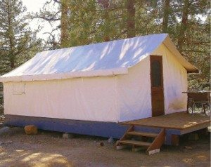 Tent & Camping Cabins - Mono Hot Springs