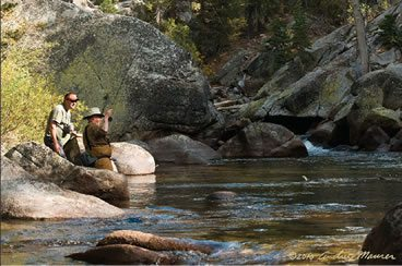 Fly Fishing Sierra Nevada River