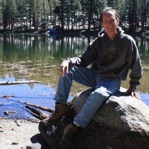 Tony Krizan at Corbett Lake