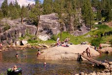 River Swimming Hole