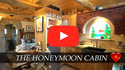 Honeymoon Cabin Mono Hot Springs Resort CA
